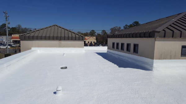 Commercial Seamless Roof Coating Lake Ozark