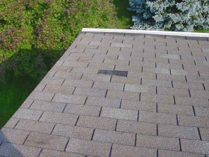 Roof with Missing Shingle