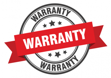 Warranty badge - Reputable roofing companies in Lake Ozark will always offer quality warranties.